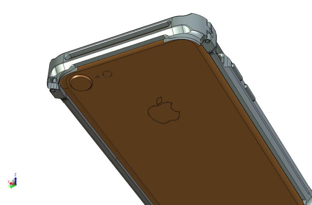 iPhone アルミニウムバンパー DECASE