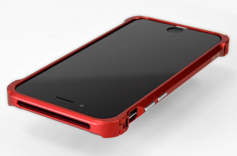 iPhone SE アルミニウム バンパー ケース